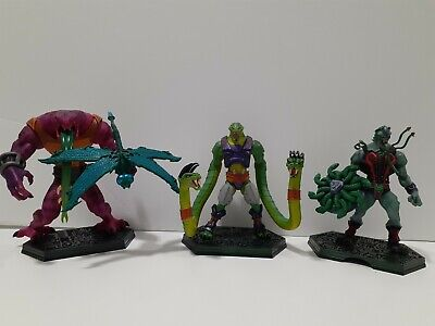 $180 • Buy NECA Masters Of The Universe SNAKEMEN LOT SSSQUEEZE TUNG LASHER SNAKE FACE