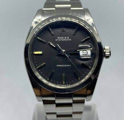$ CDN4320.04 • Buy Rolex Vintage 1986 Stainless Steel Oysterdate Precision 6694 Watch