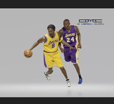 $399 • Buy Enterbay NBA Collection Kobe Bryant 2-pack 1:6 Scale Real Masterpiece Brand New