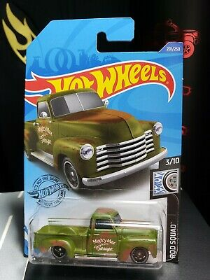 AU7.62 • Buy 2020 Hot Wheels '52 Chevy Pickup Truck Rod Squad - A36