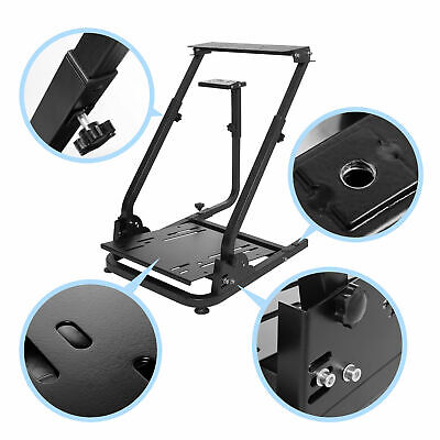 Steering Wheel Stand Racing Simulator GT Gaming For PS4 Logitech G29 G920 T300s • 58.99£