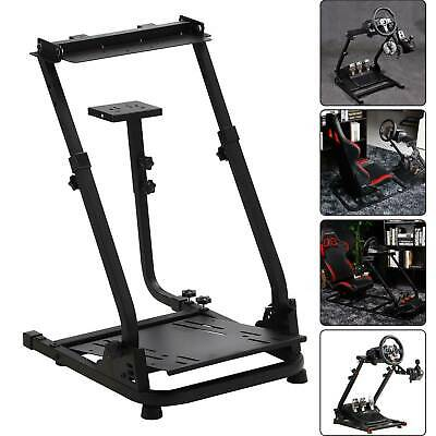 Racing Simulator Steering Wheel Stand GT Model Gaming For G29 G920 T300RS T80 • 58.99£