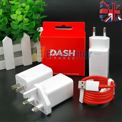 AU16.68 • Buy Original 5V/4A Fast Charger DASH Wall Adapter Cable For Oneplus 7 6T 6 5T 5 3 UK