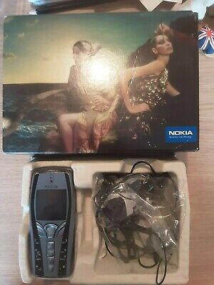 Old Nokia 7250i Phone Boxed With Ear Accessories • 19.99£