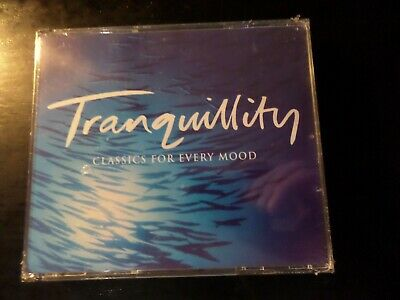 Cd Triple Album - Readers Digest - Classics For Every Mood - Tranquility - New  • 1£
