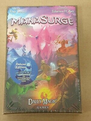 ManaSurge Card Game Kickstarter Deluxe Edition From Daily Magic Games - New • 29.99£