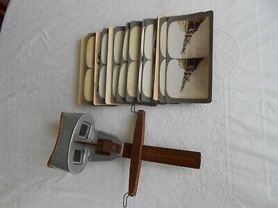 Stereoscopic Viewer With 18 Slides Of Boer War Including 2 Of The Worcesters. • 175£