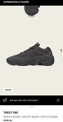 $ CDN362.85 • Buy Adidas Yeezy 500 Utility Black Size 14 Confirmed Order!!  SOLD OUT!!!