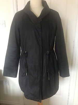Joules Ladies Parka Style  Waxed Coat Size 12 • 25£