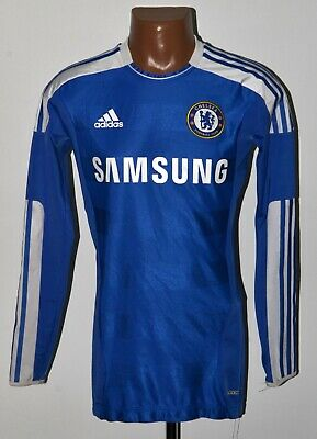 Chelsea 2011/2012 Home Football Shirt Jersey Adidas Size 6 Player Issue Techfit • 139.99£