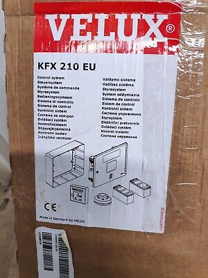 Velux Kfx 210 Eu Control System For Smoke Ventelatiion Roof Window System New  • 100£