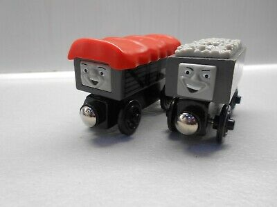 Wooden Thomas The Tank Engine Trains For Brio Troublesome Trucks Giggling Trucks • 4.20£