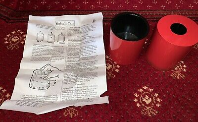 Vintage Magic Trick - Merry Switch Can - Stage Magic Utility Prop Switching Can • 14£