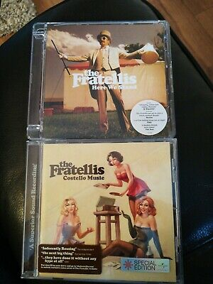 The Fratellis CDs - Here We Stand & Costello Music • 1.59£