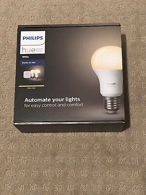 AU100 • Buy Philips Hue HUEWHTKIT Starter Kit E27 2 Bulb - Warm White - Unused