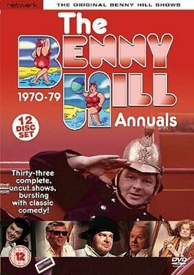The Benny Hill Show: Complete 70s Annuals 1970-79 • 30£
