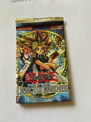 Yugioh Legacy Of Darkness Booster Pack Sealed  • 28£