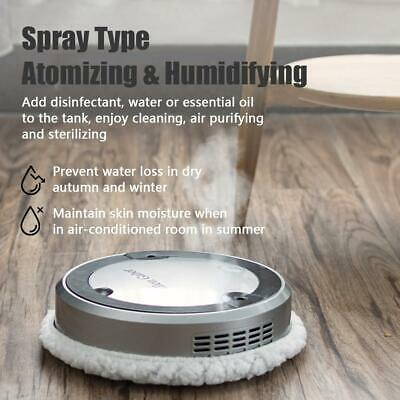 Mopping Robot Cleaner Spray Type Humidifying UV Light Sterilizing Wet & Dry S2S6 • 30.69£