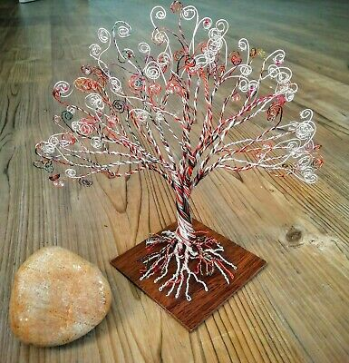 Wire Tree Sculpture. Unique Gift. Ideal Display Piece.  • 20£