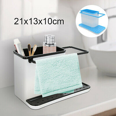 AU13.99 • Buy Caddy Storage Kitchen Sink Utensils Holders Drainer Sponge Holder Kitchen ToolAU