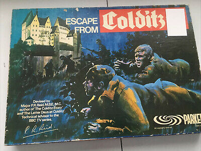 Escape From Colditz Board Game 1973 Parker Complete • 19.44£