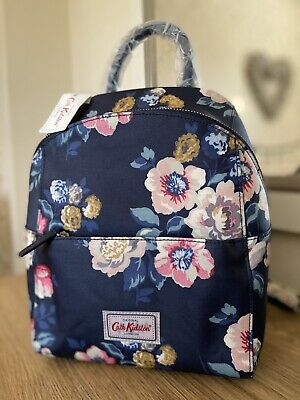 CATH KIDSTON *Windflower Bunch* BACKPACK ~ BNWT (matt Oilcloth) MARK ON BADGE • 49.99£