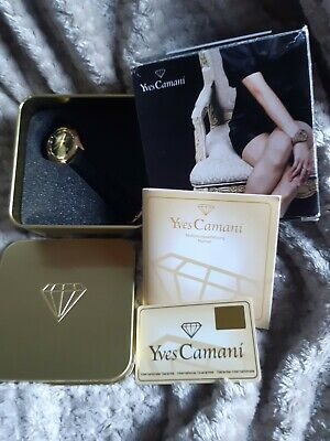 Yves Camani Womens Leather Strap Watch • 37.99£