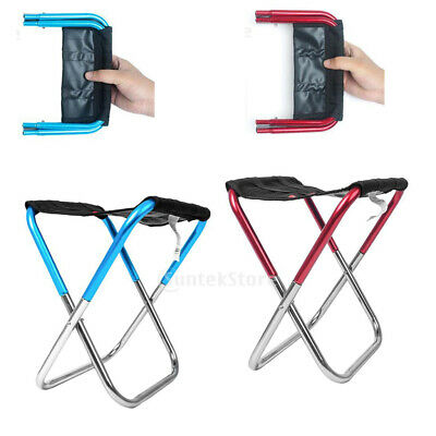 Portable Lightweight Folding Outdoor Stool Foot Seat Fishing Pocket Chair • 12.86£