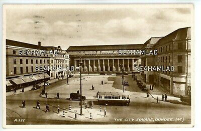 Dundee, The City Square Pu 1935 RP • 3.50£