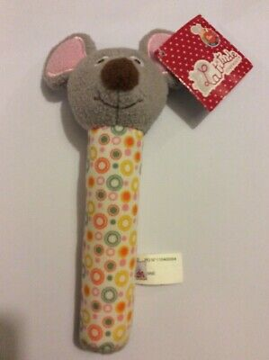 Latitude Enfant Soft Squeaker Maisie The Mouse 0m+ Official NEW With Tags • 8.99£