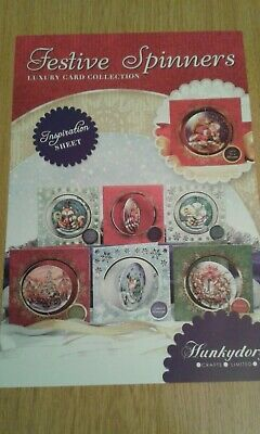 Hunkydory Festive Spinners Christmas Card Kit • 1.50£