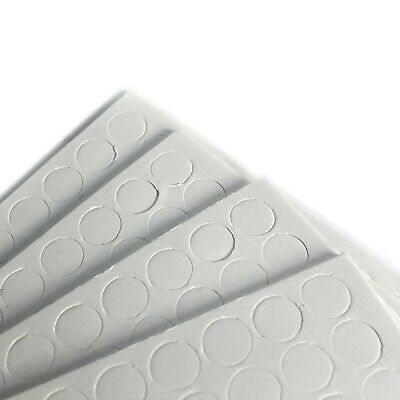 Sheets Of 10 Double-sided Sticky Tabs White (UK)) • 1.69£