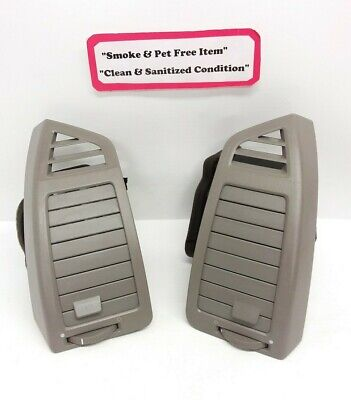 $75 • Buy 04-06 Nissan Maxima Outer Dash Ac Air Vents Pair Of Left & Right Set Gray Oem