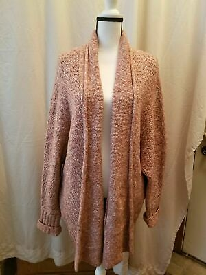 $ CDN42.02 • Buy Anthropologie Angel Of The North Open Front Sweater Cardigan XL
