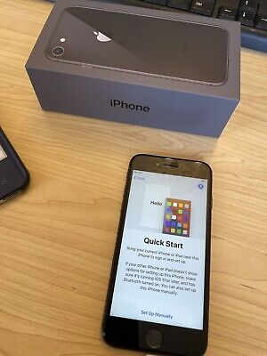 AU247.50 • Buy Apple IPhone 8 - 256GB - Space Grey (Unlocked) A1864 (CDMA + GSM) (AU Model