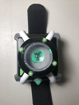 Ben 10 Deluxe Omnitrix Cartoon Network Role Play Watch Playmates Toys • 21.22£