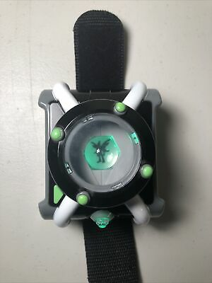 Ben 10 Deluxe Omnitrix Cartoon Network Role Play Watch Playmates Toys • 21.71£
