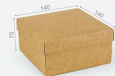 CRAFT 14cm X 14cm X 7cm  BOXES, GREETING CARDS, GIFTS, RETAIL, TOYS • 2.30£