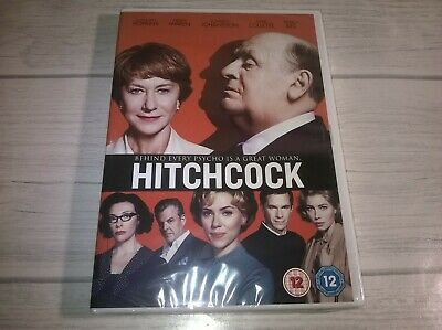 Hitchcock Anthony Hopkins Helen Mirren Genuine R2 DVD New Sealed • 2.99£