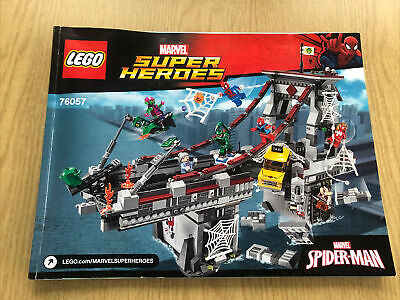 LEGO Marvel Super Heroes -  76057 Instructions Only  • 7£