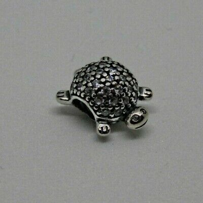£18.99 • Buy New Genuine Pandora Pave Turtle Tortoise Charm S925 Ale With Free Pouch Xmas