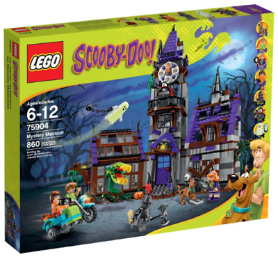 Lego 75904, Scooby Doo Mystery Mansion, Great Minifigures, New  & Unopened • 159.99£