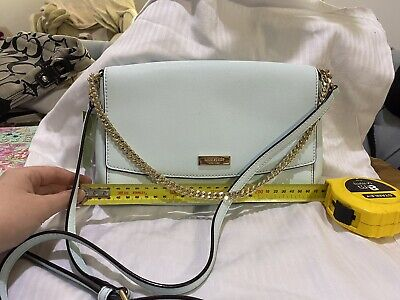AU105 • Buy Kate Spade Leather Baby Blue Crossbody New With Tags