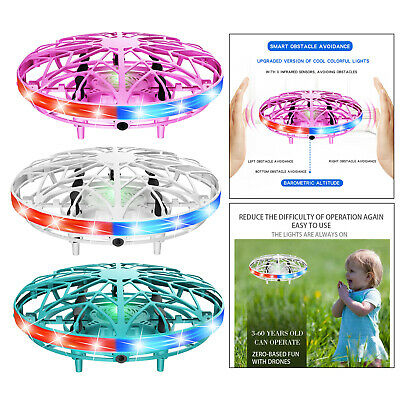 AU21.71 • Buy Hand Operated Mini Drone For Kids Adults Self Flying UFO Interactive Aircraft