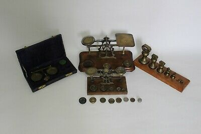£50 • Buy Collection Of Vintage Post Office / Finger Scales With Useful  Spare Weights
