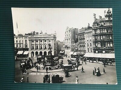 London In The 1890's Piccadilly Frith's Serie Real Photograph Postcard • 0.59£