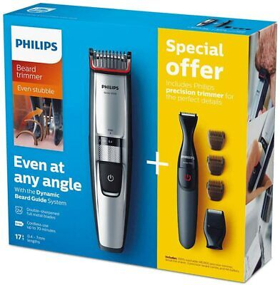 AU257.50 • Buy Philips Series 5000 Beard And Stubble Trimmer/Hair Clipper (0.4 Mm - 7 Mm) With