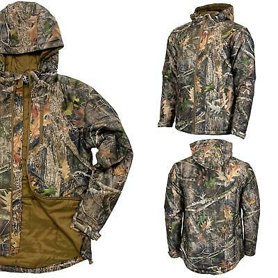£29.95 • Buy Mens Camouflage Insulated Outdoor Hunting Fishing Jacket Camo Coat