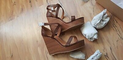 Platform Wedge Shoes BNIB Size 8.5/42 RPR £50 • 7£