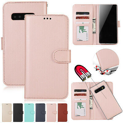 AU10.59 • Buy For Samsung S20 Ultra Note 10 9 S10 S9 S8 Case Magnetic Removable Leather Cover